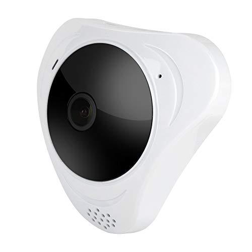 Telecamera di sorveglianza panoramica a 360 gradi, visione notturna a infrarossi, HD 1560P, WiFi, IP per interni o esterni, wireless da 1,3 MP per casa/ufficio