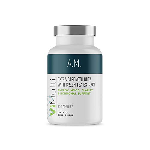 New Look! ViMulti AM Extra Strength DHEA Supplement for Men & Women. Clinically Proven. Customers Say ViMulti AM Promotes Increased Energy, Improved Mood, Sharper Mental Clarity & Hormonal Balance