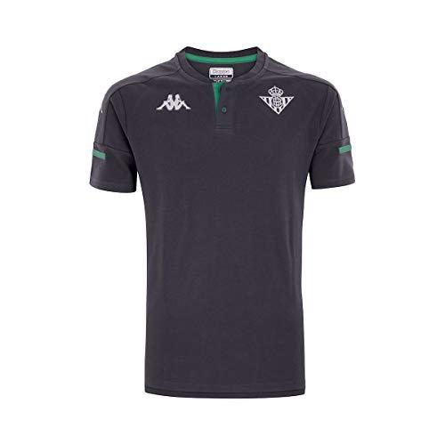 Kappa Angat 4 Betis Camiseta, Hombre, Gris/Verde, M