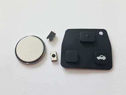 Automobile Locksmith DIY Repair kit - for Toyota 2 or 3 button remote key...