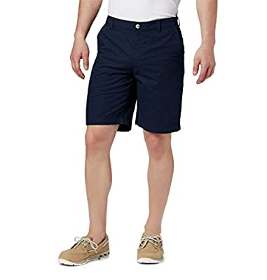 "Columbia Men's Bonehead II Shorts, Quick Drying, Collegiate Navy, 32 x 10"" Inseam"