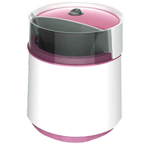 OCYE Tragbare Eismaschine, doppelt gekühltes, gesundes, Foodist-EIS, Softeis-Tiefkühljoghurt, Fruchtsorbet-Sorbet-Maschine, für den Heimgebrauch geeignet, Milchtee-Laden-Rosenrot