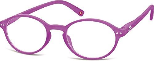Montana Eyewear Sunoptic MR74G +2.00 leesbril in lichtpaars, inclusief softeetui, transparant