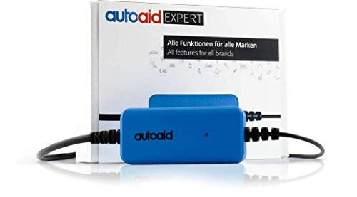autoaid Kfz Diagnosegerät für VAG, BMW, Mercedes-Benz. Opel, FIAT, Renault, Volvo, Ford, Mazda, Toyota - Tiefendiagnose (Expert)