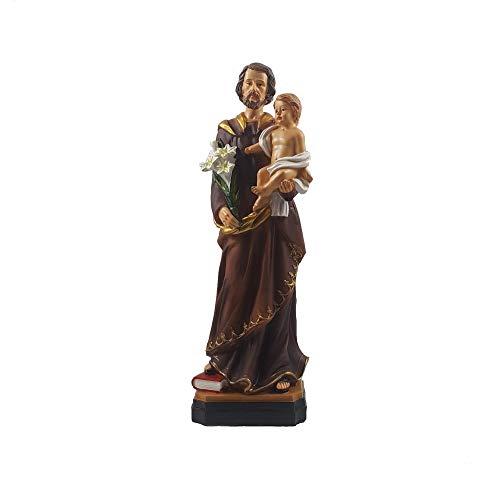 Josef von Nazareth Dekofigur Heiligenfigur Religions Statue Vater Jesu Bethlehem Krippenfigur