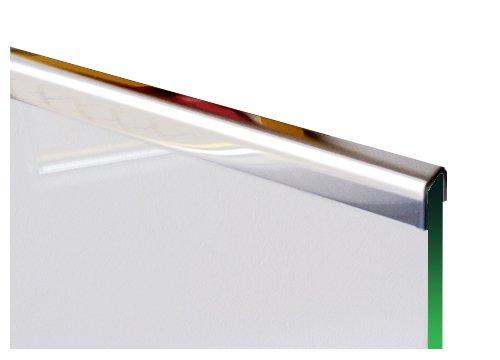 1 Einfassprofile U-Profil 1,0mm axb=15mm c=12mm (innen10mm) L= 2000 mm Edelstahl glänzend Spiegeloptik 1.4301
