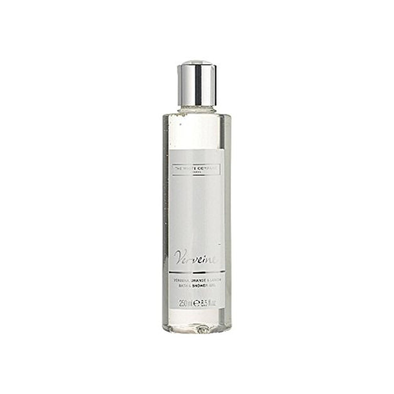 振る舞う抜け目がないセレナバス&シャワージェル白会社 x2 - The White Company Verveine Bath & Shower Gel (Pack of 2) [並行輸入品]