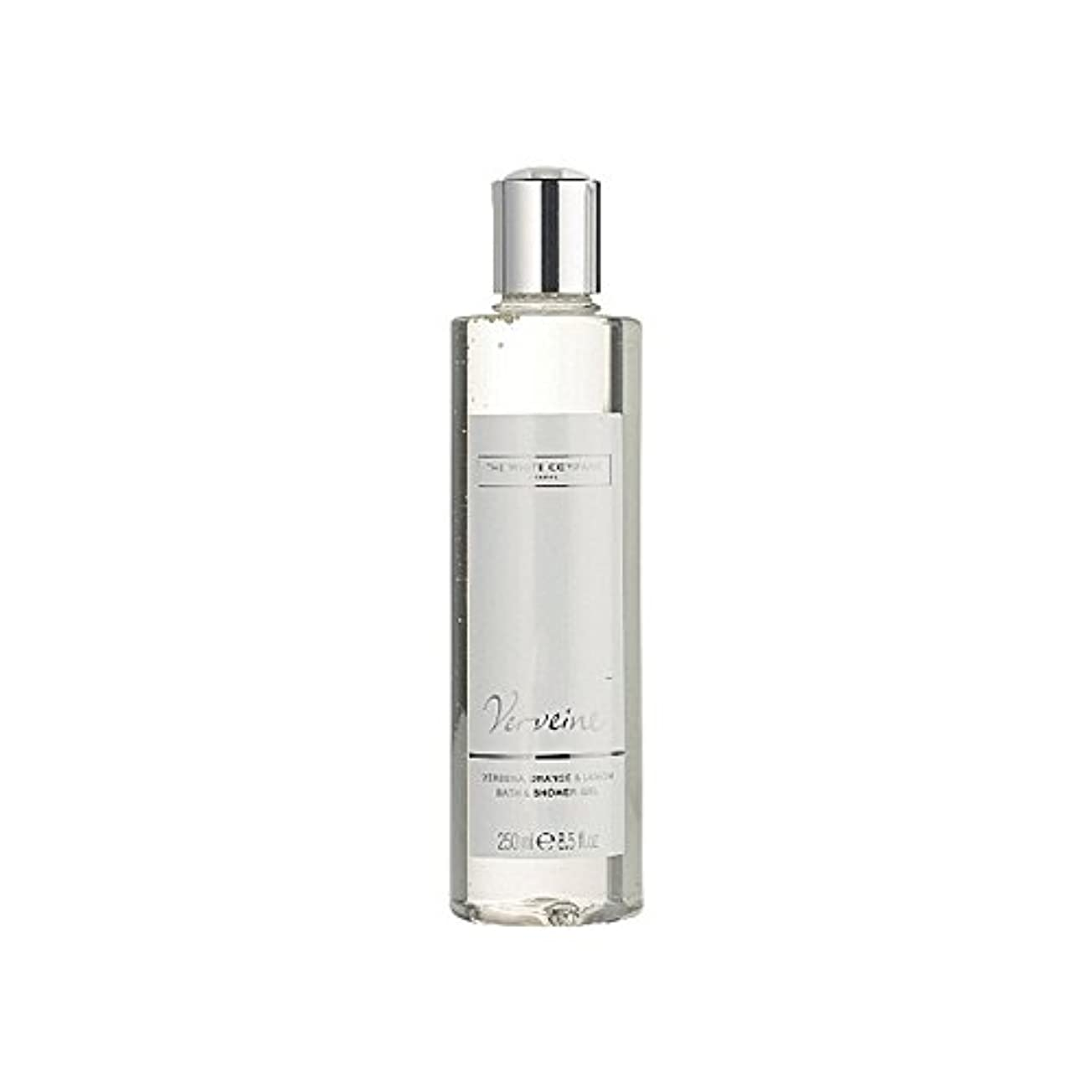 ホーン倉庫シンプルなThe White Company Verveine Bath & Shower Gel - バス&シャワージェル白会社 [並行輸入品]