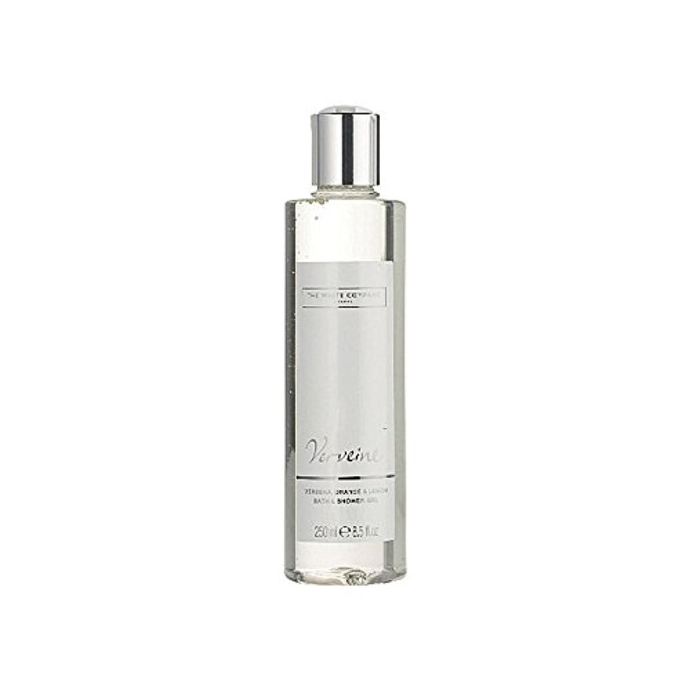 サラダジレンマ卒業The White Company Verveine Bath & Shower Gel (Pack of 6) - バス&シャワージェル白会社 x6 [並行輸入品]