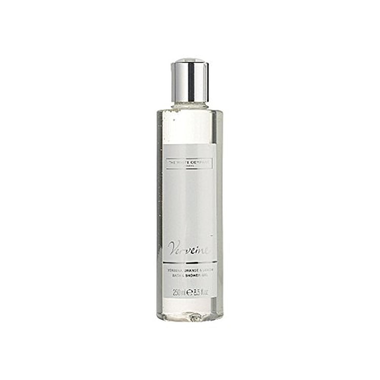 五月不足ロッジバス&シャワージェル白会社 x2 - The White Company Verveine Bath & Shower Gel (Pack of 2) [並行輸入品]