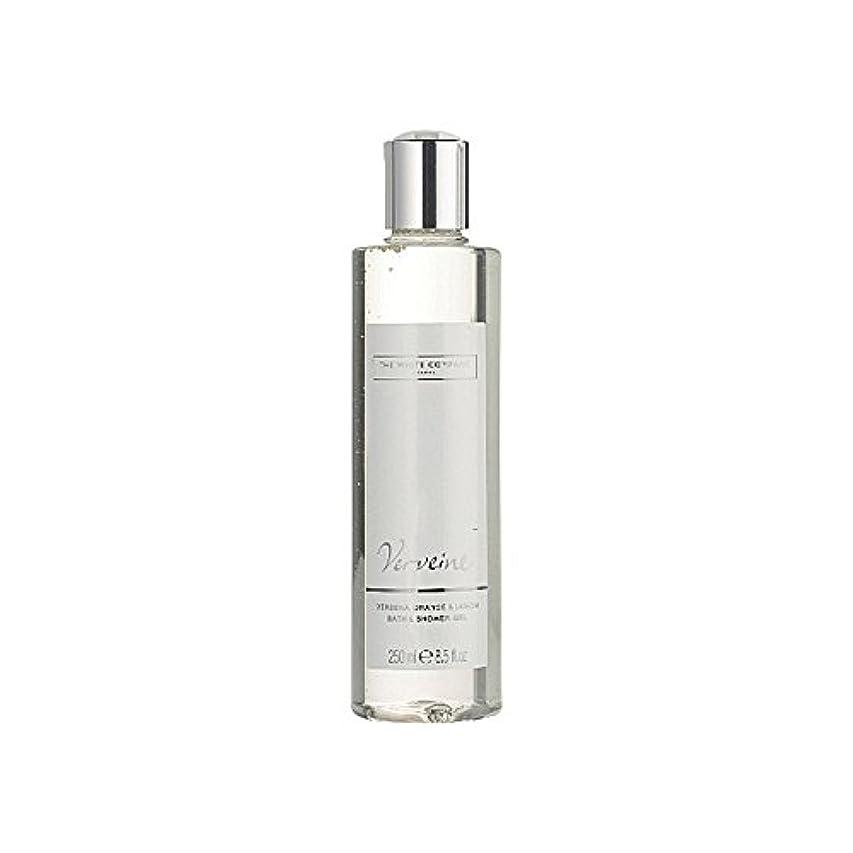楽観的解釈的居住者バス&シャワージェル白会社 x2 - The White Company Verveine Bath & Shower Gel (Pack of 2) [並行輸入品]