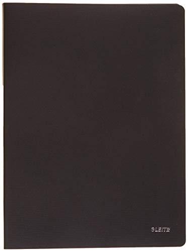 Leitz 45641095 Solid Sichtbuch PP A4, 20 Hüllen, schwarz