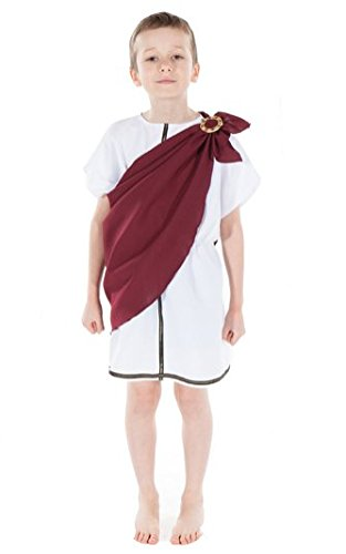 Childrens Greek Man Toga Historical Costume 5 - 7 Years