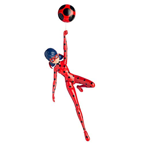 Miraculous Figuras acción, 17 cm (Bandai 39730SF), modelos surtidos, 1 unidad