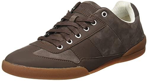 Timberland Herren Split Cupsole Oxford Basic Sneaker, Dark Brown Nubuck, 44 EU