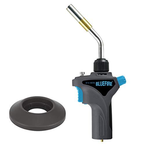 BLUEFIRE Metal Handle High-Intensity Gas Welding Torch Head, Fuel By MAPP MAP PRO Propane