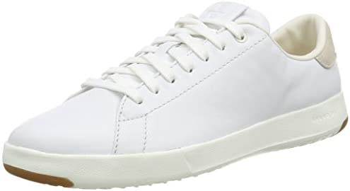 Cole Haan Women s GrandPro Tennis Leather Lace OX Fashion Sneaker Optic White Optic White 9 product image
