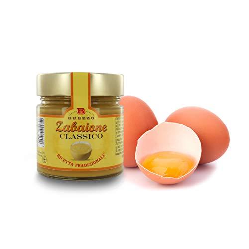 Brezzo Crema allo Zabaione, Versione Classica, Salsa Dolce, 220 Grammi