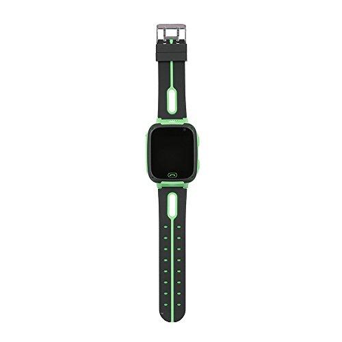 KKmoon Kids Smart Watch Children Tracker Smartwatch com câmera SOS Lighting para IOS Android BT tela de toque do telefone celular verde