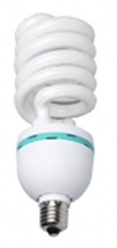 Walimex pro Spiral-Tageslichtlampe 85 W - Daylight Spirallampe Fotolampe Energiesparlampe, E27 Fassung, 5500K Tageslicht, 85 W entspricht 450 W Glühbirne, für Softbox und Reflektor