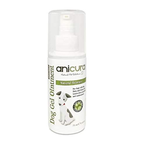 Anicura Natural Dog Gel Ointment for dry & itchy skin, hot spots, eczema & skin allergies