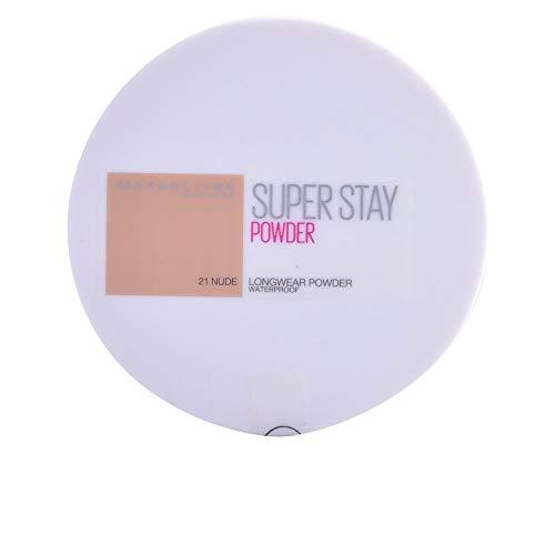 Maybelline New York Polvos Compactos Superstay 24H (Larga duración), Tono 21 Nude
