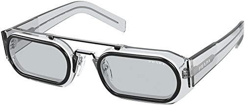 Prada Gafas de Sol RUNWAY PR 01WS Grey/Grey 53/24/150 hombre