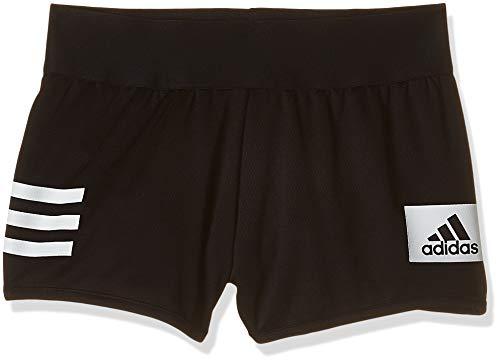 adidas Yg TR Cool SH Pantalón Corto, Niñas, Negro/Blanco, 116