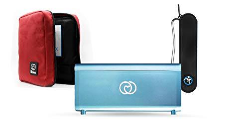 Il kit Lifeina per viaggiare con il diabete. Trasporta i tuoi farmaci su aerei, treni e automobili. Include il frigorifero portatile per insulina LifeinaBox, EasyBag Single e LifeinaBag24.