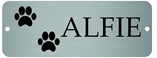 Maggie-mais Personalised kennel Door Sign, Dog Name Plate Plaque