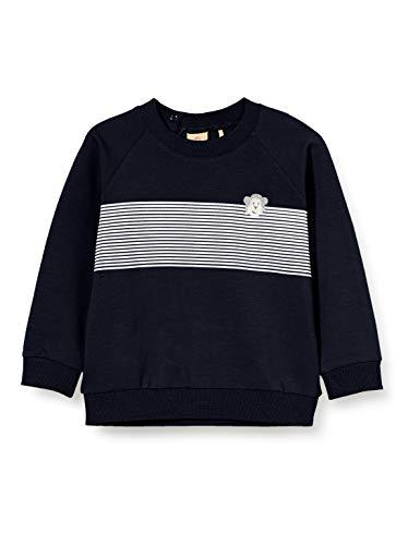Bellybutton mother nature & me Baby-Jungen 1/1 Arm Sweatshirt, Blau (Navy Blazer|Blue 3105), (Herstellergröße: 74)