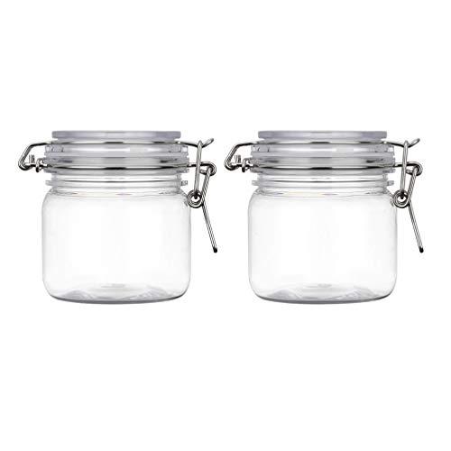 Lurrose Maquillaje vacío cosmético frasco almacenamiento