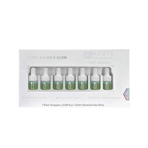 Haute Custom Beauty Serum Hidra-Equilibrar Vegano, Extractos de Alga Rara y Botánico, Set-7 Goteras (1,5 Ml) Equilibran y Mejora los Poros Dilatados, Todo Tipo de Piel 160 g