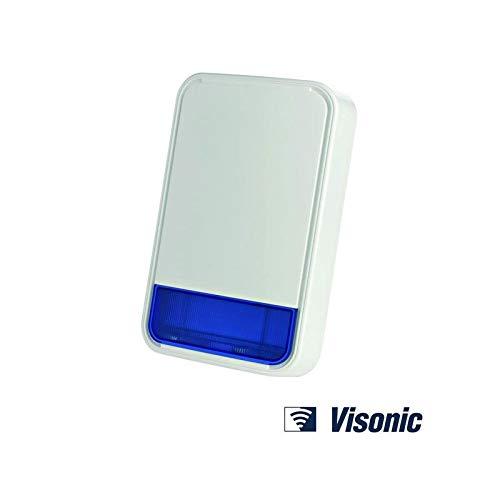 Visonic MCS-740 - Caja de timbre para exteriores (funciona con pilas)