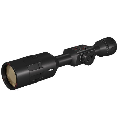 ATN ThOR 4 4-40x, 640x480, Thermal Rifle Scope w/Ultra Sensitive Next Gen Sensor, WiFi, Image Stabilization, Range Finder, Ballistic Calculator and IOS and Android Apps