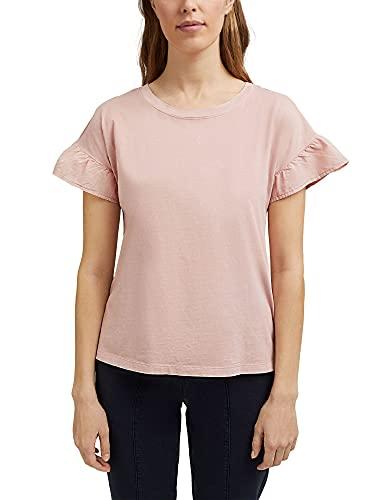 Esprit 031ee1k342 Camiseta, Color Carne, XXL para Mujer