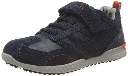 Geox J Snake 2 Sneakers Size 4-4.5 Little Kid Colour Navy