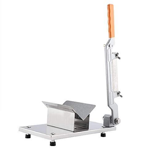 Cocoarm Allesschneider Manuelle Fleischschneider Edelstahl Aufschnittmaschine mit Schneidet Griff Design für gefrorenes Fleisch Gemüse