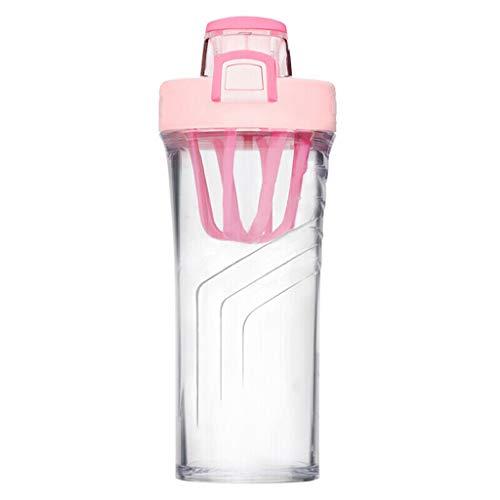 Xiaodou Outdoor Sportflasche aus Kunststoff tragbarer Sport Cup, beweglicher Spielraum Tritan Kunststoff-Wasser-Schal 710ml-Protein-Pulver Shake Shake Cup Versiegelt Auslaufsicher Wasserflasche