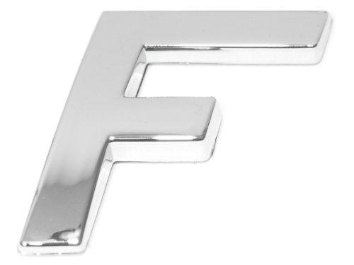 Eufab 30316 3d-letter F Car-logo