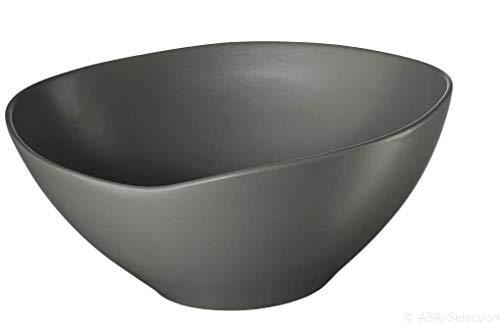 ASA Schüssel, Keramik, Grau, 27.5 cm