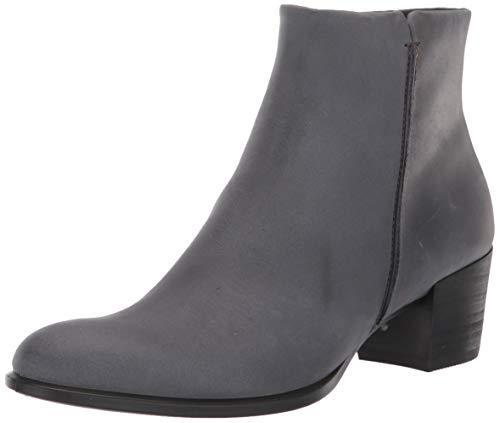 ECCO Women's Shape 35 Stitch Ankle Boot, Magnet Nubuck, 39 M EU (8-8.5 US)