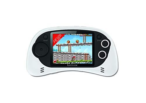LEXIBOOK (JL2385W Consola de vídeo portátil, Power Arcade de 200 Juegos, Pantalla LCD 2.6', Color Blanco