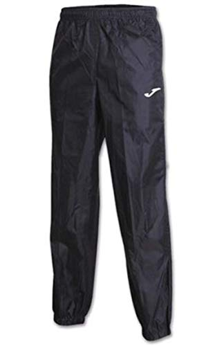 Joma Pantalon Largo Impermeable Leeds Negro, Hombres, Negro-100, XL
