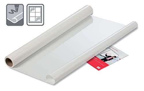 Nobo Tafel-Folien, Statisch Haftend, Trocken abwischbar und Abnehmbar, 800 x 600 mm, 25 Stück, Weiß, 1905156