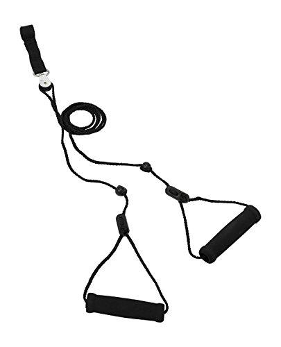 Rolyan Erreichen 'N Bereich Pulley Über Tür Riemen, die zu Hause Unabhängige Physiotherapie, Training & Trainingsgerät für Rehabilitation, Türmontage für Ihr Krafttraining