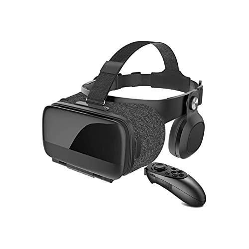 WGLL VR Auriculares, Auriculares de Realidad Virtual, VR Gafas para teléfono de Pantalla de 4,5-6.2 Pulgadas, VR...