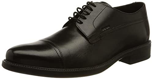 Geox Homme Uomo Carnaby G Oxford, Noir Black C9999, 43 EU
