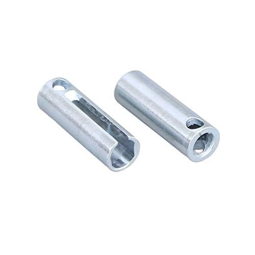 2-teiliger Zündkerzenstecker Entfernen Sie Das Dünnwandige Magnetentfernungswerkzeug 55X20mm, Zubehör Glühkerze Für Parkheizung, Kompatibel Mit Webasto Eberspacher D2 D4 D4S, Stahl