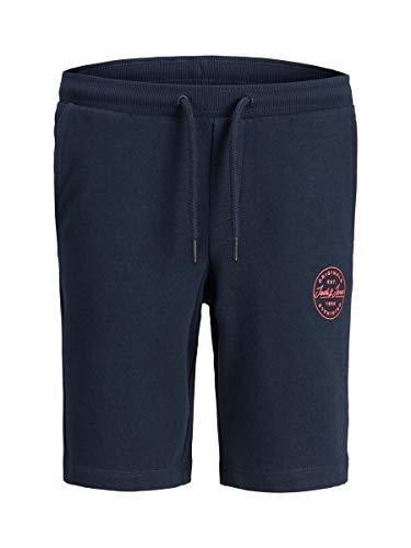 Jack & Jones Junior Jji Shark Jjsweat Shorts Viy Jr Noos Pantalones Cortos Informales, Blazer Azul Marino, 152 para Niños